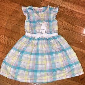 Gymboree 4t NWT summer plaid dress